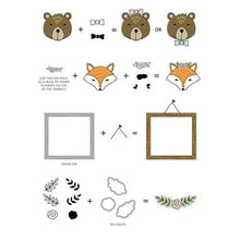 Load image into Gallery viewer, Concord and 9th - Clear Acrylic Stamps - Furry Friends