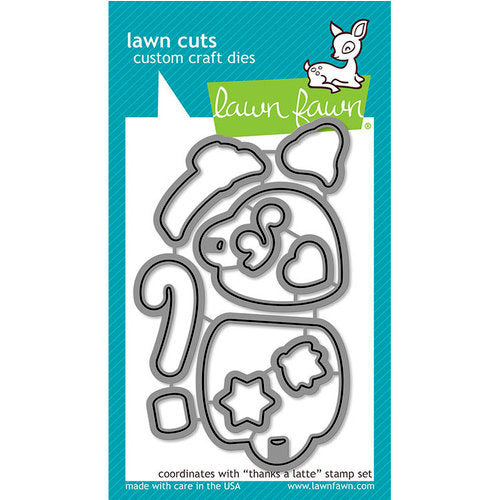 Lawn Fawn - Lawn Cuts - Dies - Thanks A Latte