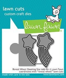 Lawn Fawn - Lawn Cuts - Dies - Reveal Wheel - Shooting Star Add-On