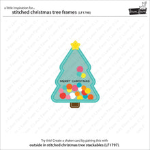 Load image into Gallery viewer, Lawn Fawn - Lawn Cuts - Dies - Stitched - Christmas Tree Frames