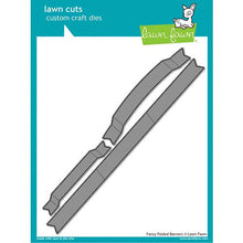 Load image into Gallery viewer, Lawn Fawn - Lawn Cuts - Dies - Fancy Folded Banners