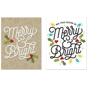 Concord and 9th - Christmas - Dies - Merry and Bright