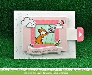 Lawn Fawn-Clear Acrylic Stamps-Butterfly Kisses