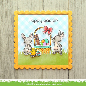 Lawn Fawn-Clear Acrylic Stamps-Eggstra Amazing Easter