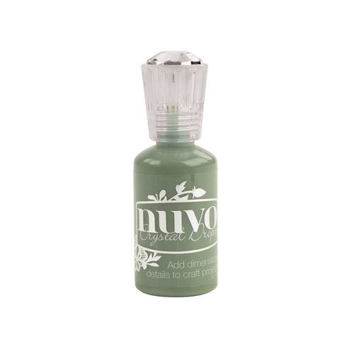 Nuvo - Festive Season Collection - Crystal Drops Gloss - Olive Branch