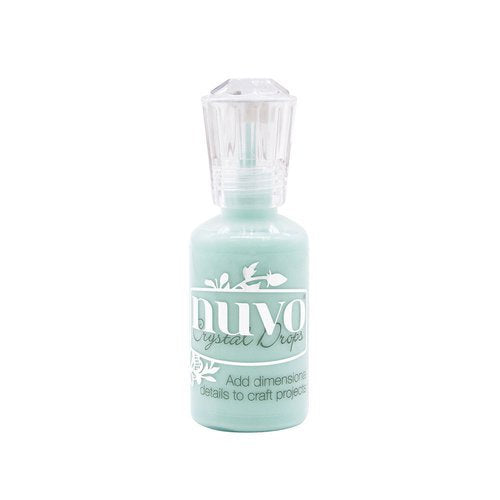 Nuvo - Dream In Colour Collection - Crystal Drops - Calming Aqua