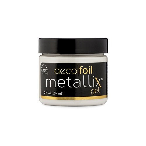 Therm O Web - iCraft - Deco Foil - Metallix Gel - 2 Ounces - White Pearl