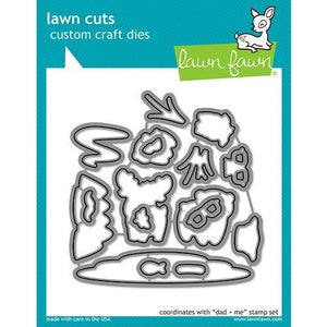 Lawn Fawn - Lawn Cuts - Dies - Dad and Me