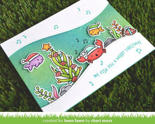 Load image into Gallery viewer, Lawn Fawn-Christmas Fishes-Clear Stamp Set