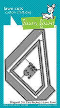 Load image into Gallery viewer, Lawn Fawn-Diagonal Gift Card Pocket-Lawn Cuts
