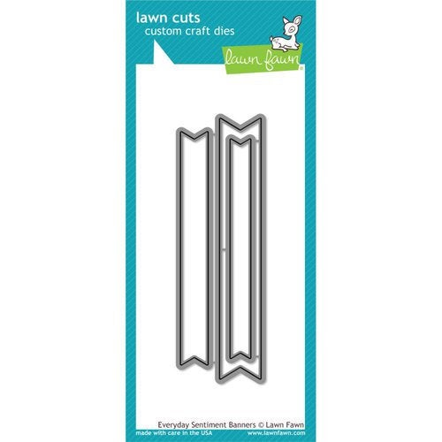 Lawn Fawn - Lawn Cuts - Dies - Everyday Sentiment Banners