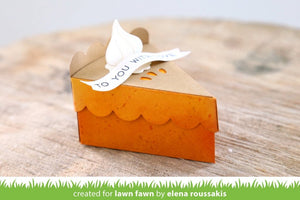 Lawn Fawn-Cake Slice Box Pie Add-on-Lawn Cuts