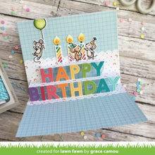 Load image into Gallery viewer, Lawn Fawn - pop-up happy birthday - lawn cuts