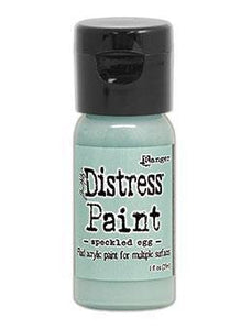 Tim Holtz Distress® Flip Top Paint Speckled Egg 1oz ( 2020 New Color) in stock