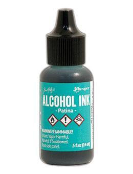 Tim Holtz - Alcohol Inks .5oz - Patina