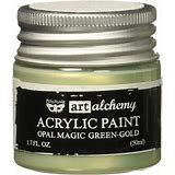 Prima - Finnabair - Art Alchemy - Opal Magic- Green / Gold