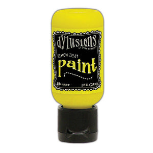 Ranger Ink - Dylusions Paints - Flip Cap Bottle -Lemon Zest