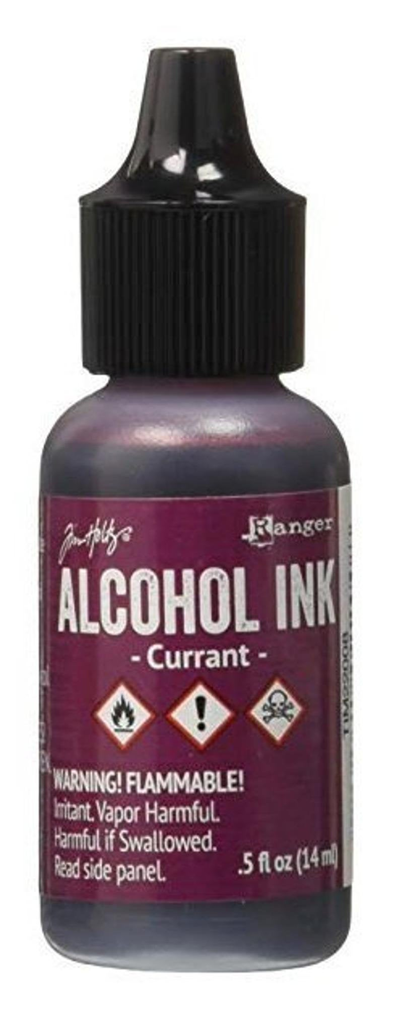 Tim Holtz - Alcohol Inks .5oz - Currant