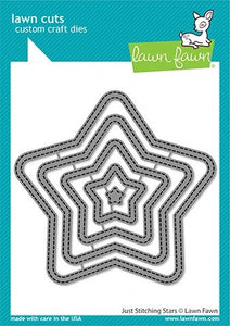 Lawn Fawn-Lawn Cuts- just stitching stars