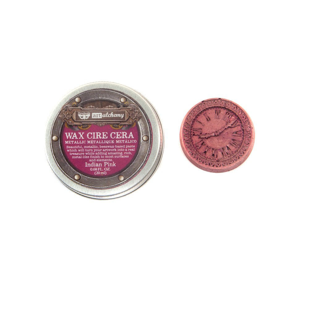 Prima - Finnabair - Art Alchemy - Metallique Wax - Indian Pink
