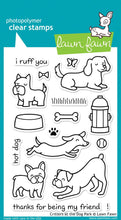 Load image into Gallery viewer, Lawn Fawn - Critters At The Park - clear stamp set