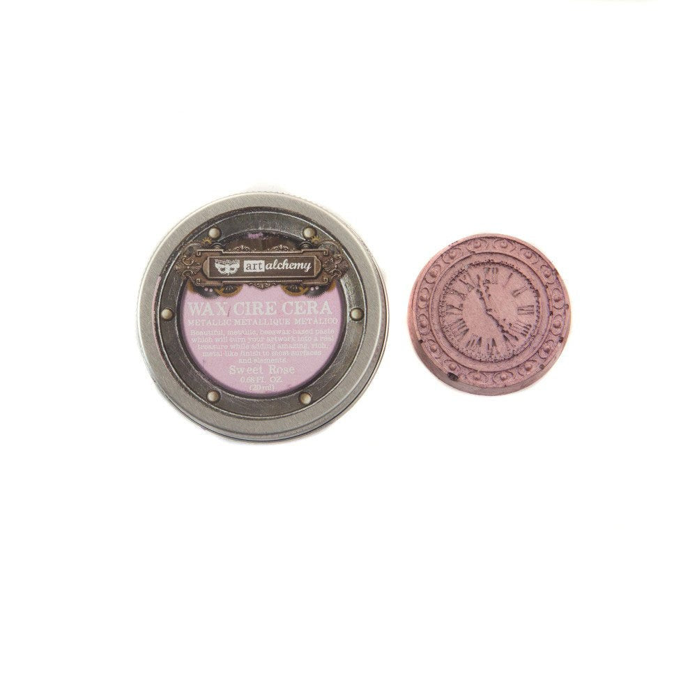 Prima - Finnabair - Art Alchemy - Metallique Wax - Sweet Rose