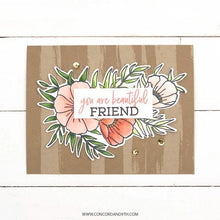 Load image into Gallery viewer, Concord and 9th - Clear Acrylic Stamps - Meadow Blossoms
