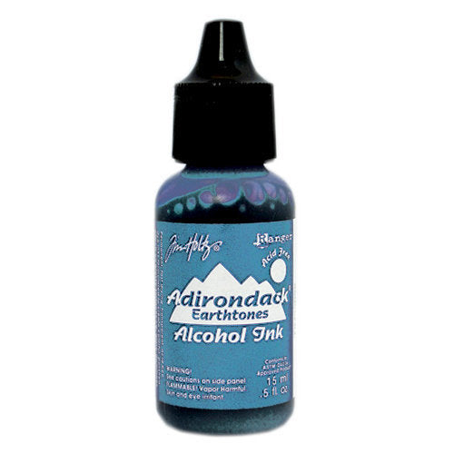 Ranger Ink - Tim Holtz - Adirondack Alcohol Ink - Sail Boat Blue