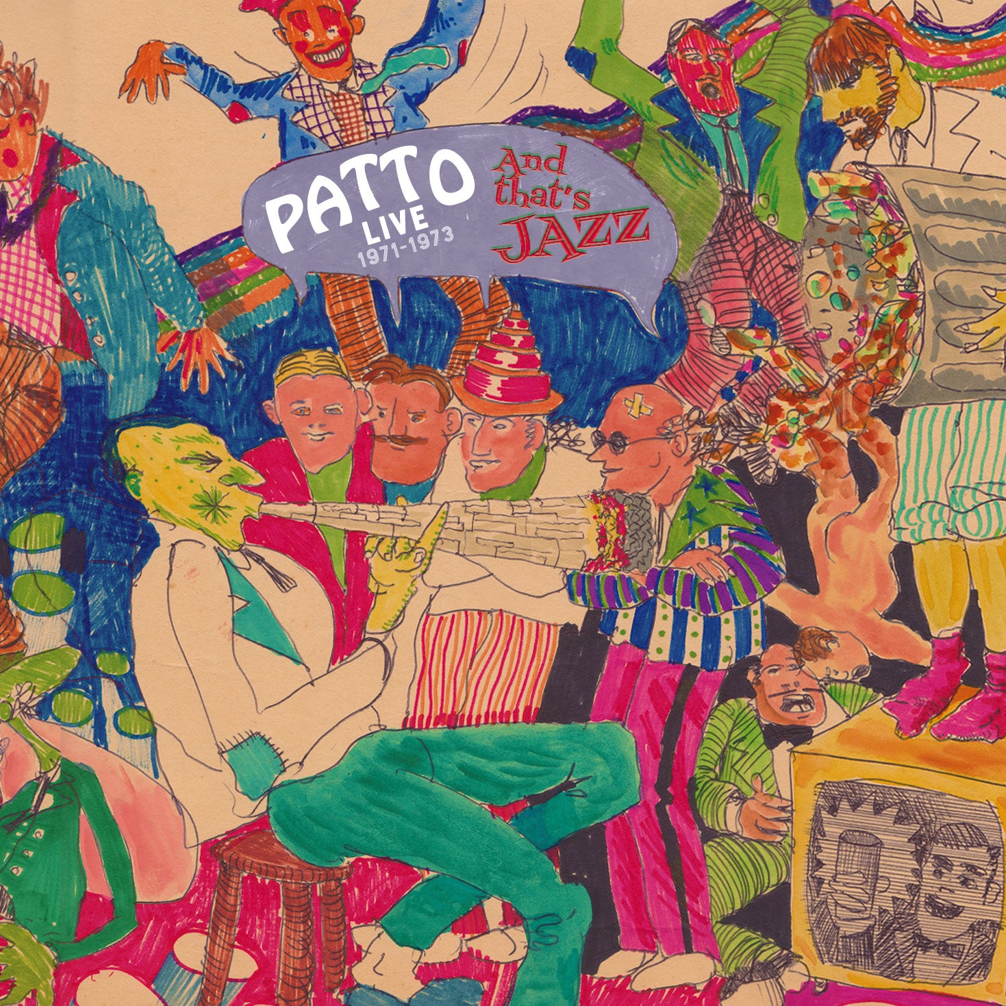 PATTO - AND THAT'S JAZZ: LIVE 1971-1973 (CD/DVD)