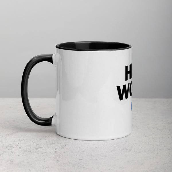 ED HALE - 'HEAL WORLD' MUG