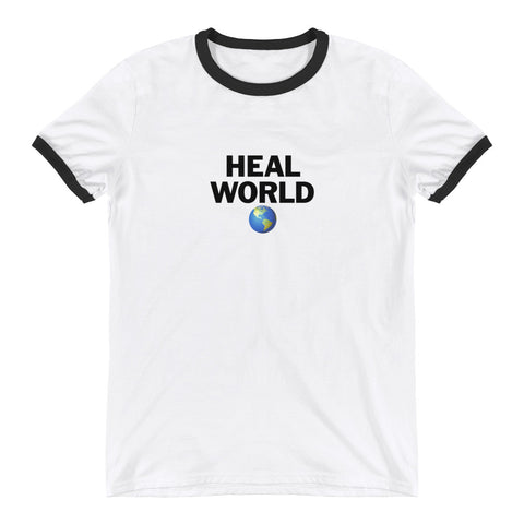 ED HALE - 'HEAL WORLD' TEE (Apparel)