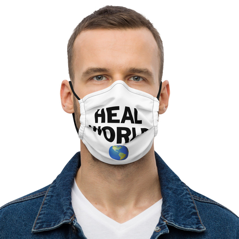 ED HALE - 'HEAL WORLD' FACE MASK