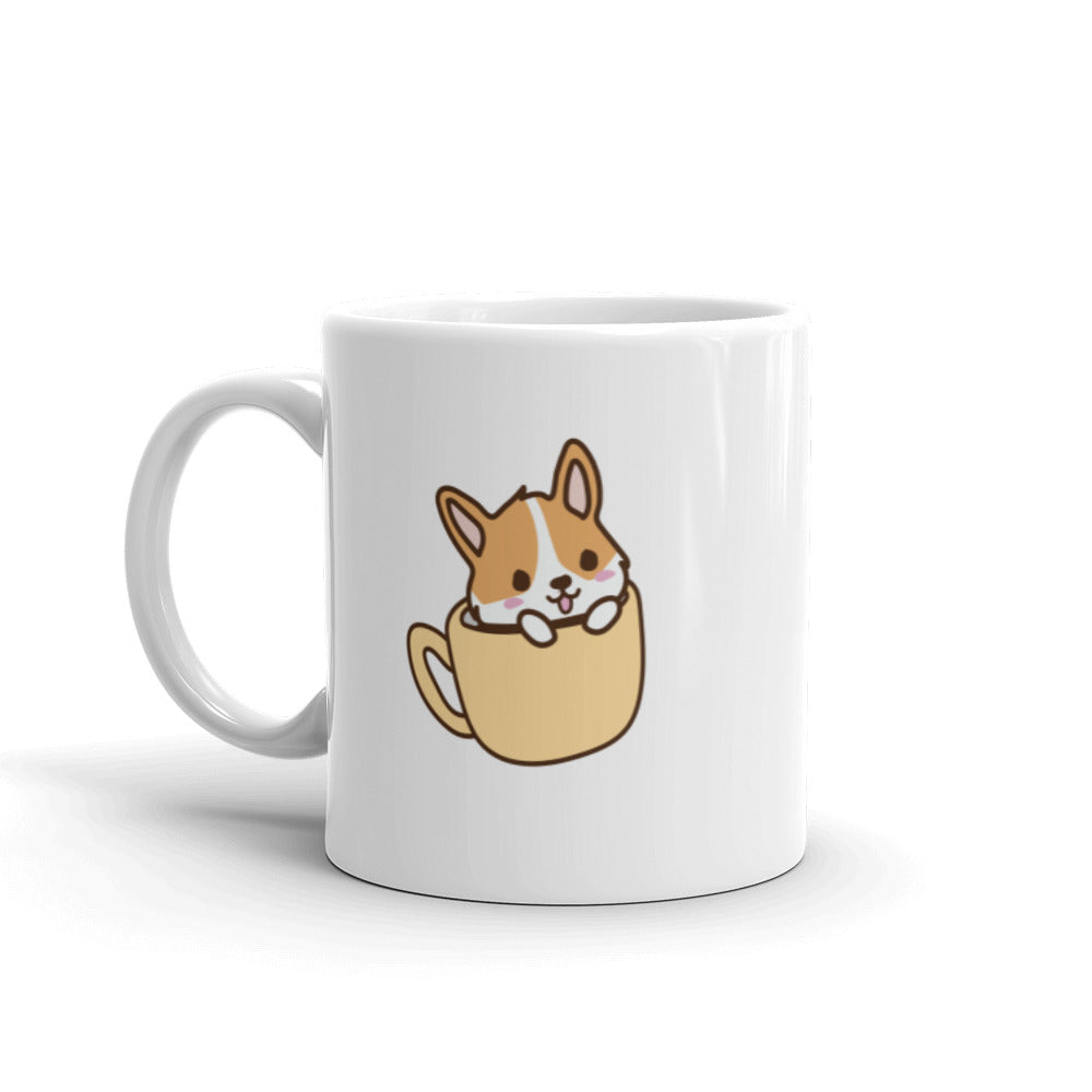 Corgi in a Cup (Right-Handed)