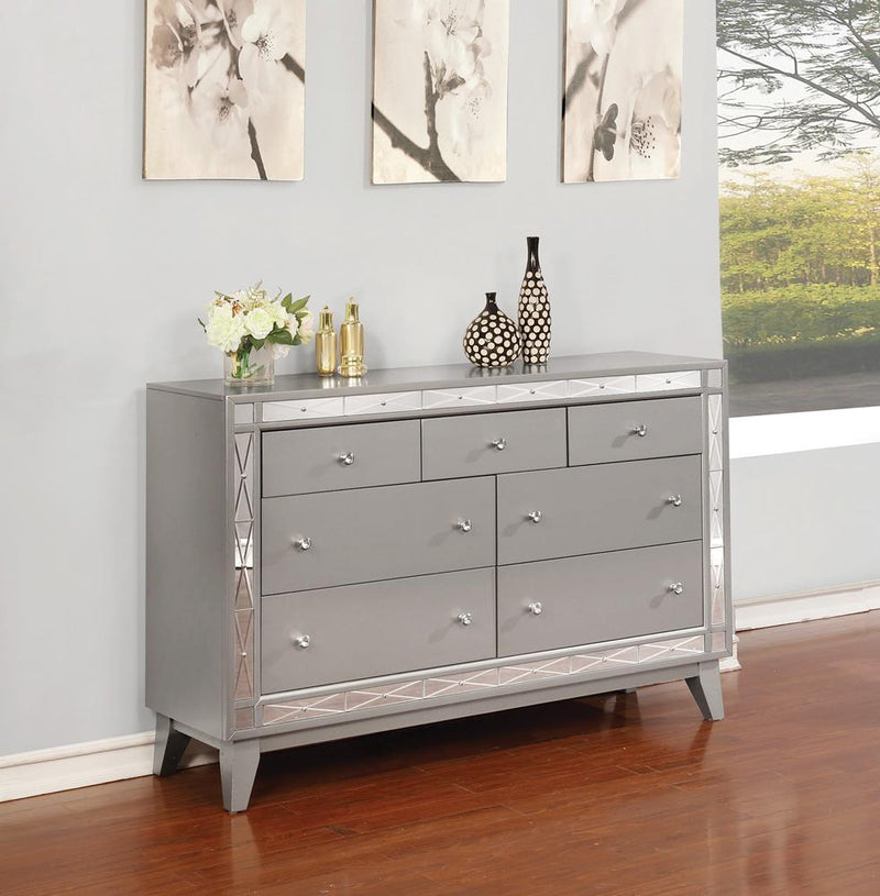 Leighton Contemporary Seven-Drawer Dresser