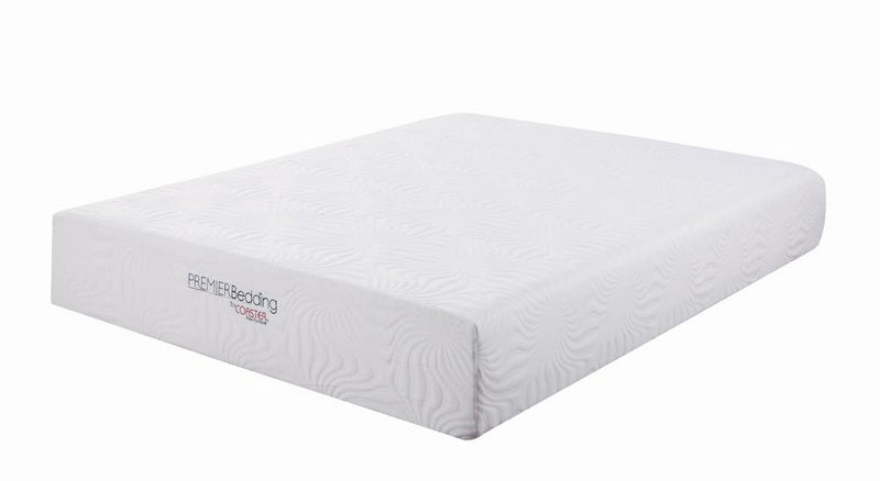 Ian White 12-Inch Queen Memory Foam Mattress