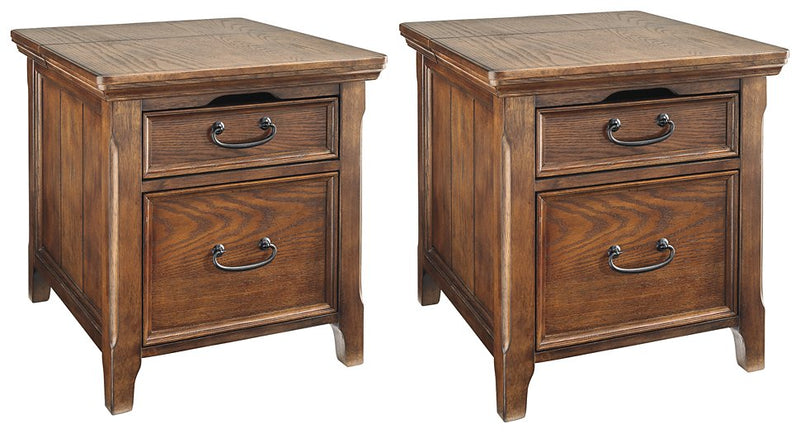 Woodboro 2-Piece End Table Set image