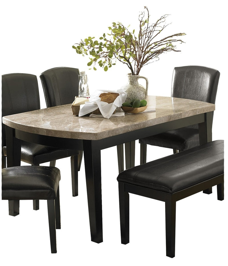 Homelegance Cristo Dining Table in Dark Espresso 5070-64 image