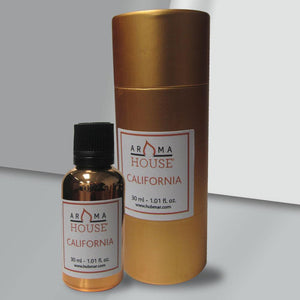 AromaHouse California Essential Oil Blend, 100% Pure and Natural Essential Oil for Aromatherapy Diffusers (30 ML)