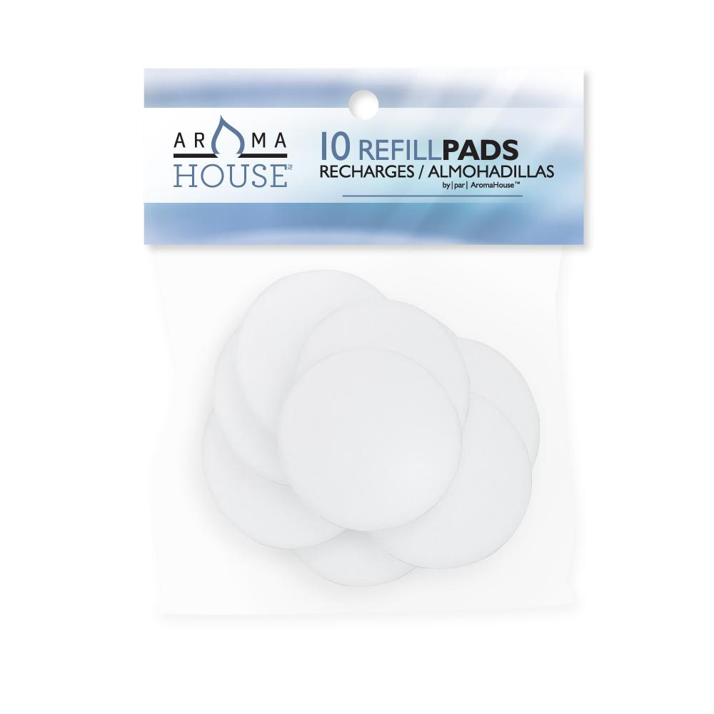 Aromahouse Aromapearl Aromatherapy unscented Refill Pads 10 Count