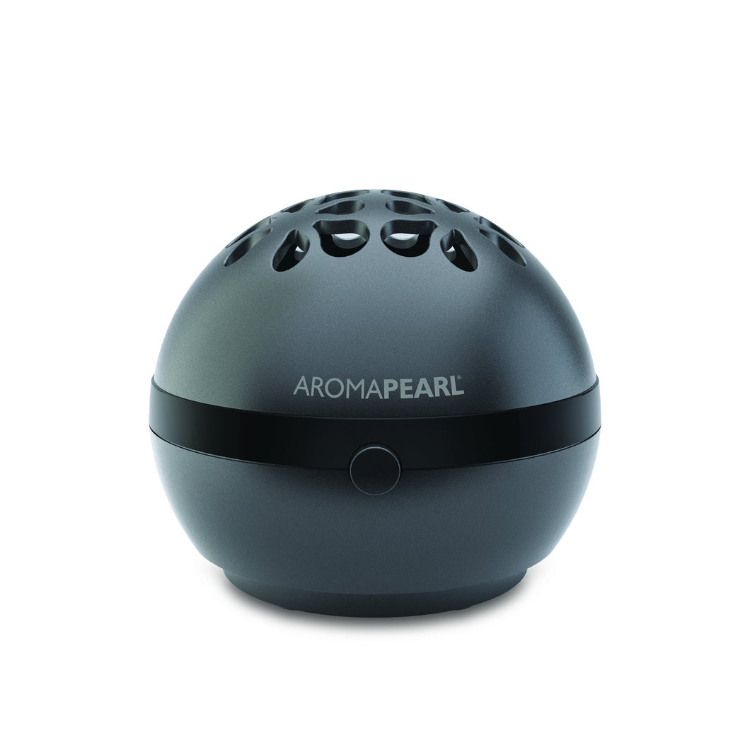 AromaHouse AromaPearl Electric and Battery Operated Personal Aromatherapy Diffuser Great for The Home, Office and for Travel (Black)
