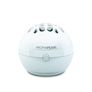 AromaHouse AromaPearl Electric and Battery Operated Personal Aromatherapy Diffuser Great for The Home, Office and for Travel (White)