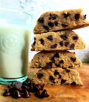 Gluten free-Vegan Chocolate Chip