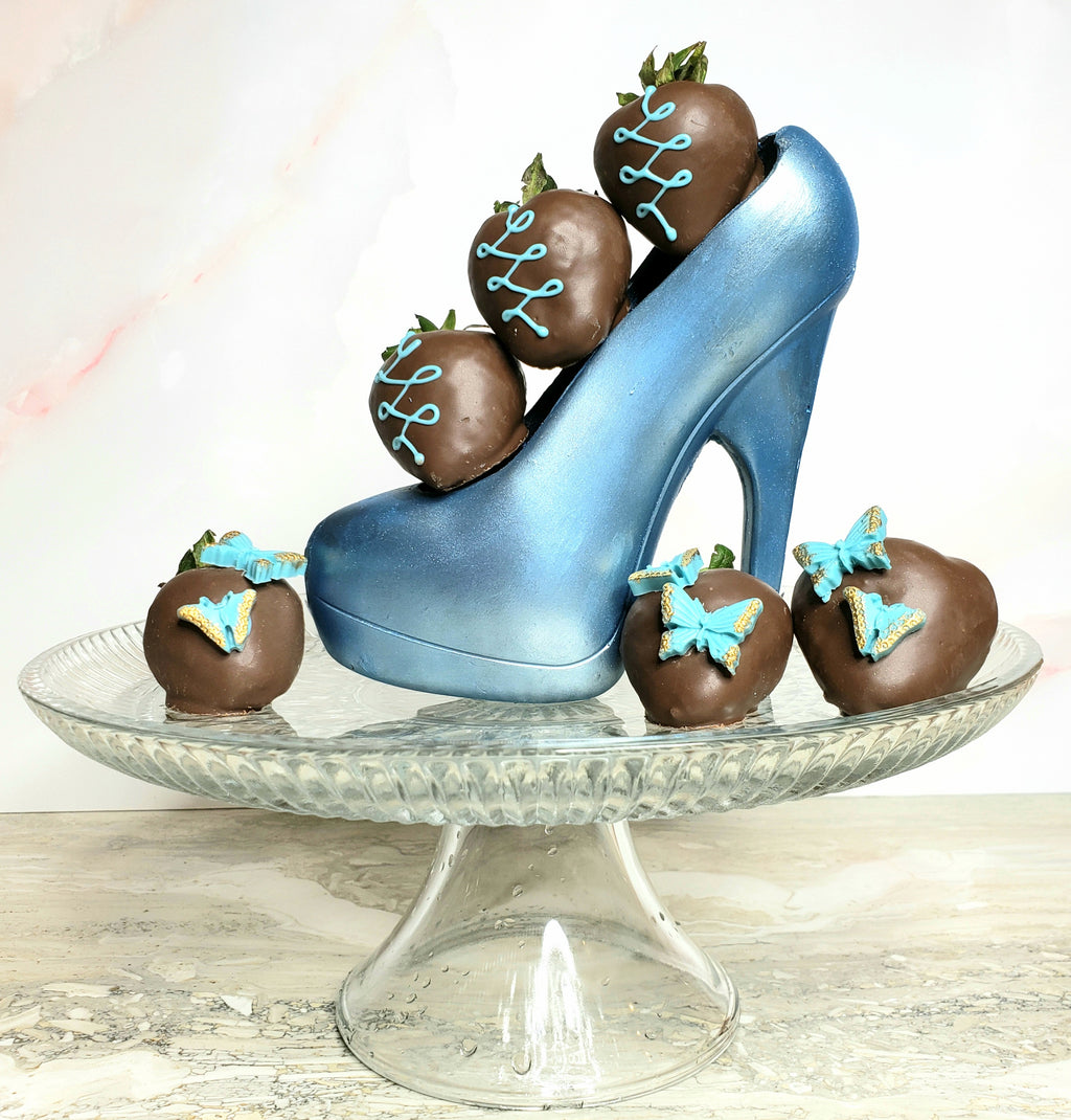 High Heel with Berries