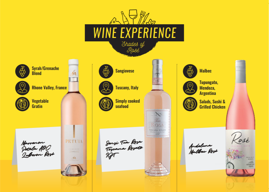 Shades of Rosé - Wine Experience