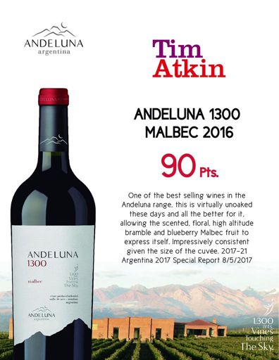 What makes Andeluna Malbec taste so good?