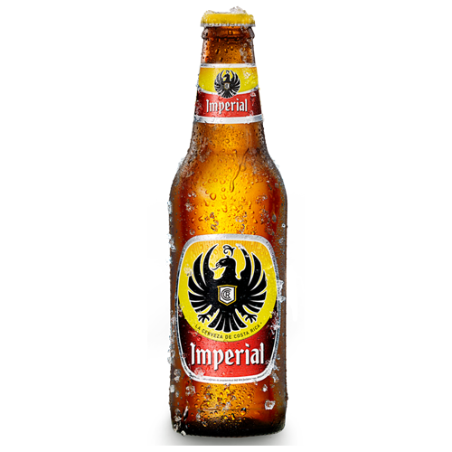 Imperial Beer from Costa Rica