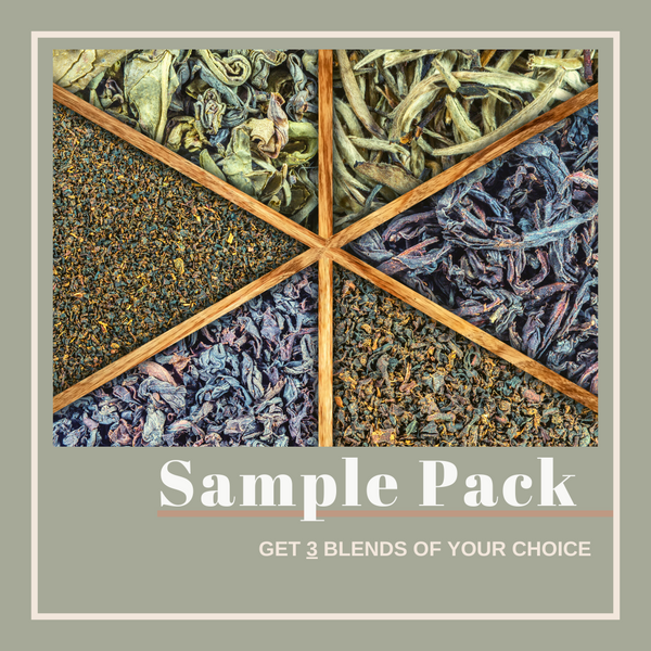 Loose Tea Sampler Pack of 3