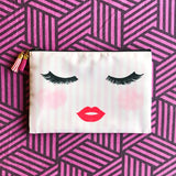 Mascara Love Cosmetic Pouch