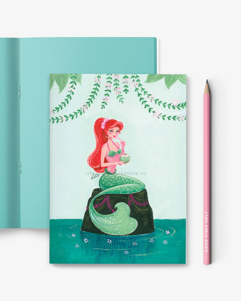 Summer Lovin' Mermaid Notebook