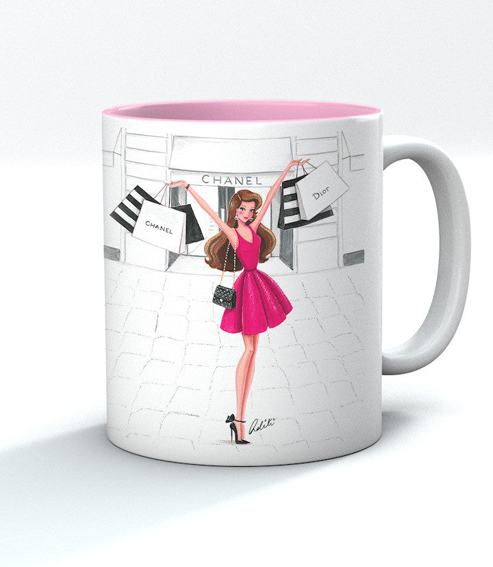 Retail Therapy Red Mug